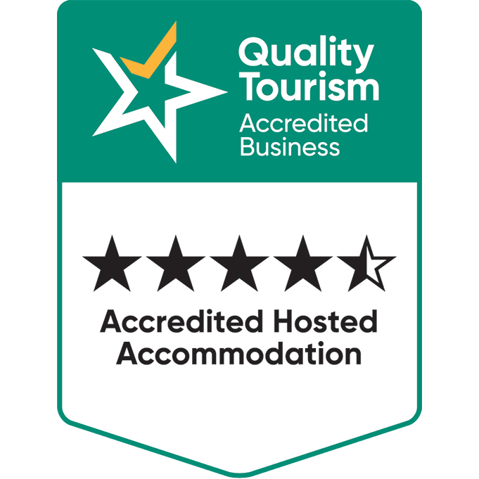 WA Tourism - Quality Tourism Accreditation Hosted Accomodation 2019
